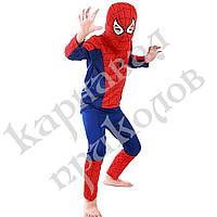Маскарадный костюм Спайдермен синий (размер S), фото 1