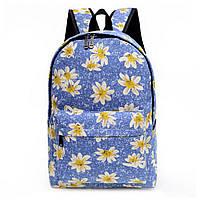 Женские городские рюкзаки с принтом. Молодежные рюкзаки. 15 литров