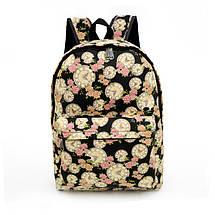 3ecce95ef77d Женские городские рюкзаки с принтом. Молодежные рюкзаки. 15 литров, фото 2