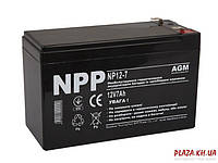 Аккумуляторная батарея для ИБП NPP Аккумуляторная батарея для ИБП NPP NP12-7 12В 7Ач