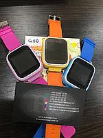Детские умные часы телефон с GPS-трекером Q80.