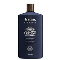 Шампуни Esquire Шампунь-кондиционер гель для душа Esquire Grooming 3 в 1 для мужчин 415 мл