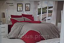 Двухспальный комплект постельного белья First De-Luxe (сатин) (002)