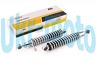 Амортизаторы (пара)   ИЖ   325mm, регулируемые, с рычагом    (хром)   MANLE