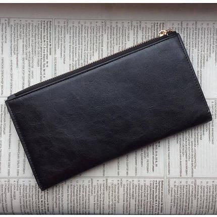 Гаманець жіночий Bogesi. Червоний і чорний. Великий гаманець., фото 2