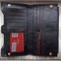 Гаманець жіночий Bogesi. Червоний і чорний. Великий гаманець., фото 3