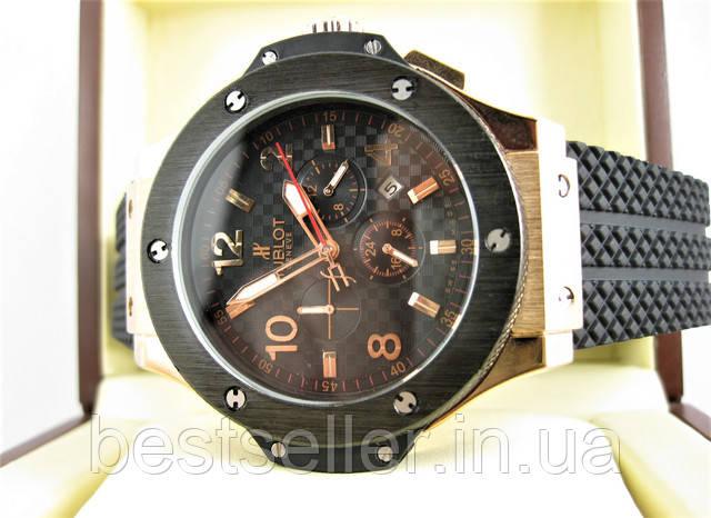 Часы Hublot Big Bang Rose Gold Glass 18k (Механика). f8ddd52939bfa
