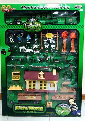 """Игровой набор """"Ферма"""" (Farm World) (60 элементов)"""