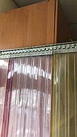 Крепеж ленты ПВХ для шторы (планка 1,25 м+гребенка)