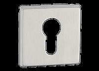 Накладка дверная под цилиндр Артикул: E12 SS Цвет отделки: SS - нержавеющая сталь