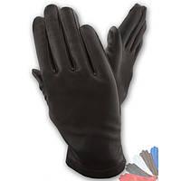 Мужские перчатки из натуральной кожи без подкладки модель 090.