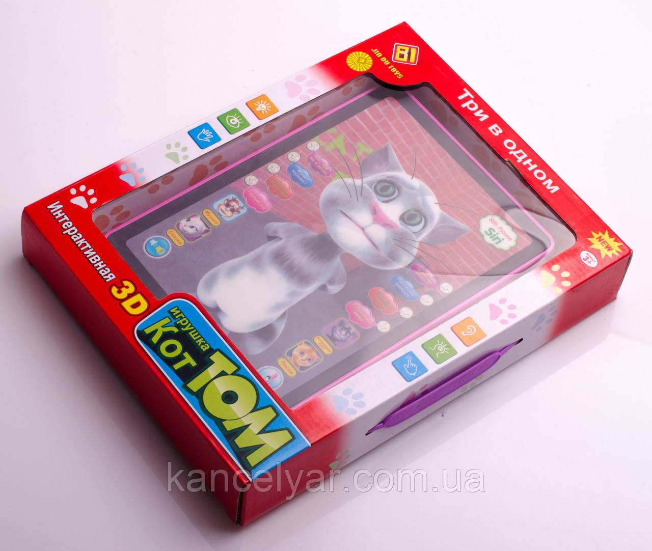 """Інтерактивна гра - планшет """"Кіт Том"""", 3 в 1"""