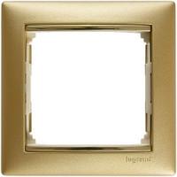 Рамка 1 пост Legrand Valena 770301 матовое золото
