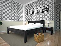 Кровать Модерн 9 деревянная полуторная 140 (Тис)
