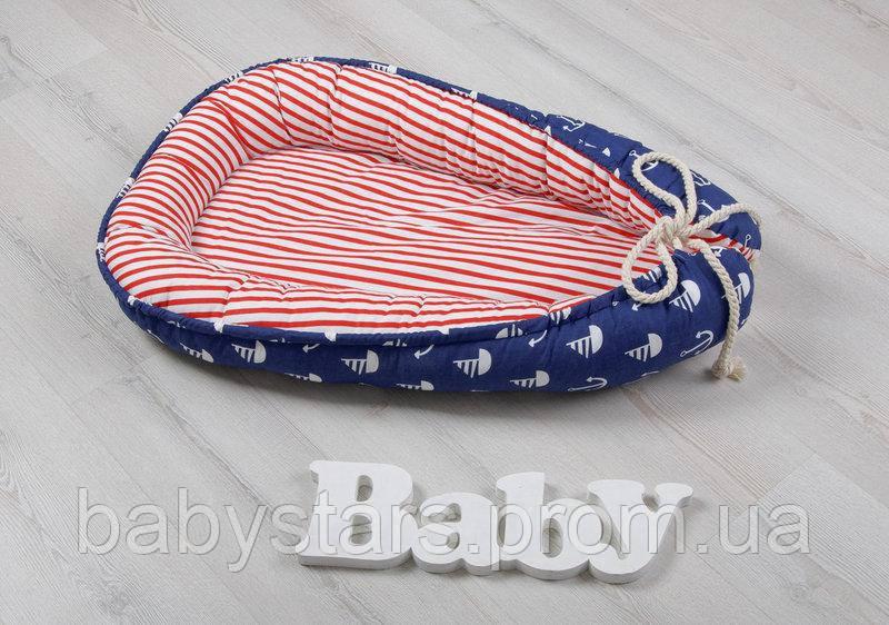 Позиционер для малыша Babynest Морской