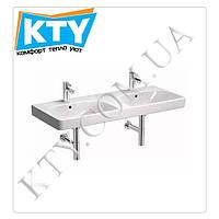 Умывальник Kolo Traffic L91521000 (мебельный, 120х48 см, двойной, с двумя отверстиями, с переливом)
