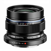 Об'єктив Olympus ZUIKO DIGITAL ED 12mm 1:2.0 Black (V311020BE001)