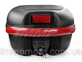 Кофр для скутера мопеда мотоцикла капроновый большой (38,5*34*26см) и шлем