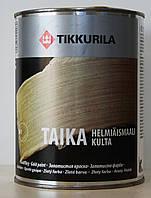 Тиккурила Тайка   перламутровая краска (TAIKA золото) 1л