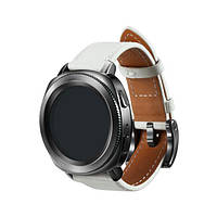 Ремень для Samsung Gear Sport Classic Leather (GP-R600BREEBAC) White (GP-R600BREEBAC)