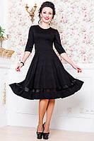 Женское платье  -Миу-Миу- черного цвета