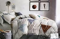 Сатиновое постельное белье евро 5D №RX6-1-2размер 180*220 см