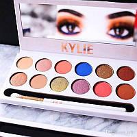 Набор теней KYLIE The Royal Peach Palette 12 цветов Хит продаж!