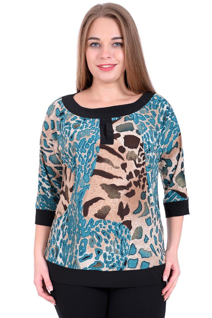 88f90a35cb0 Красивая женская блуза с животным принтом - Оптово-розничный магазин одежды