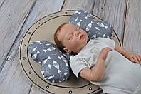 """Детская подушка для новорожденных """"Butterfly"""", рыбки"""