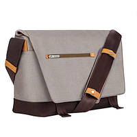 "Сумка 15 ""Moshi Aerio Messenger Bag Titanium Gray бежевый (99MO082701)"