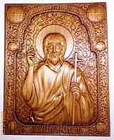 """Резные иконы. Икона резная """"Иоанн Предтеча"""", фото 1"""