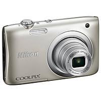 Фотоаппарат Nikon Coolpix A100 Silver (VNA970E1)