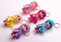 """Брелок для ключей """"Кукла"""", в ассортименте"""