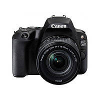 Фотоаппарат Canon EOS 200D kit (18-55mm) EF-S IS STM Black (2250C017)