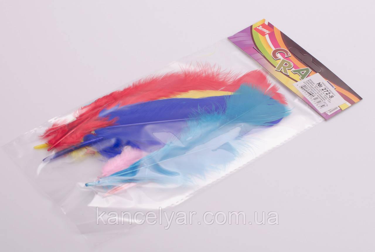"""Декор для творчества """"Цветные перья"""""""