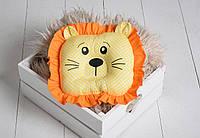 """Детская подушка-игрушка для новорожденных """"Leo"""", фото 1"""