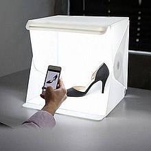 Лайт бокс, фотобокс предметна зйомка light box фото фон софт лайт куб