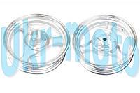 """Диск колеса   3,50 * 13   (зад, диск)   (легкосплавный, 19 шлицов, под камерную шину)   """"ZY"""""""