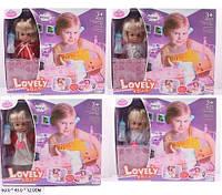 Кукла-пупс с кроваткой Lovely Baby