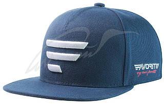 Кепка Favorite синяя и белое лого 58