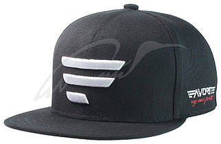 Кепка Favorite черная и белое лого 58