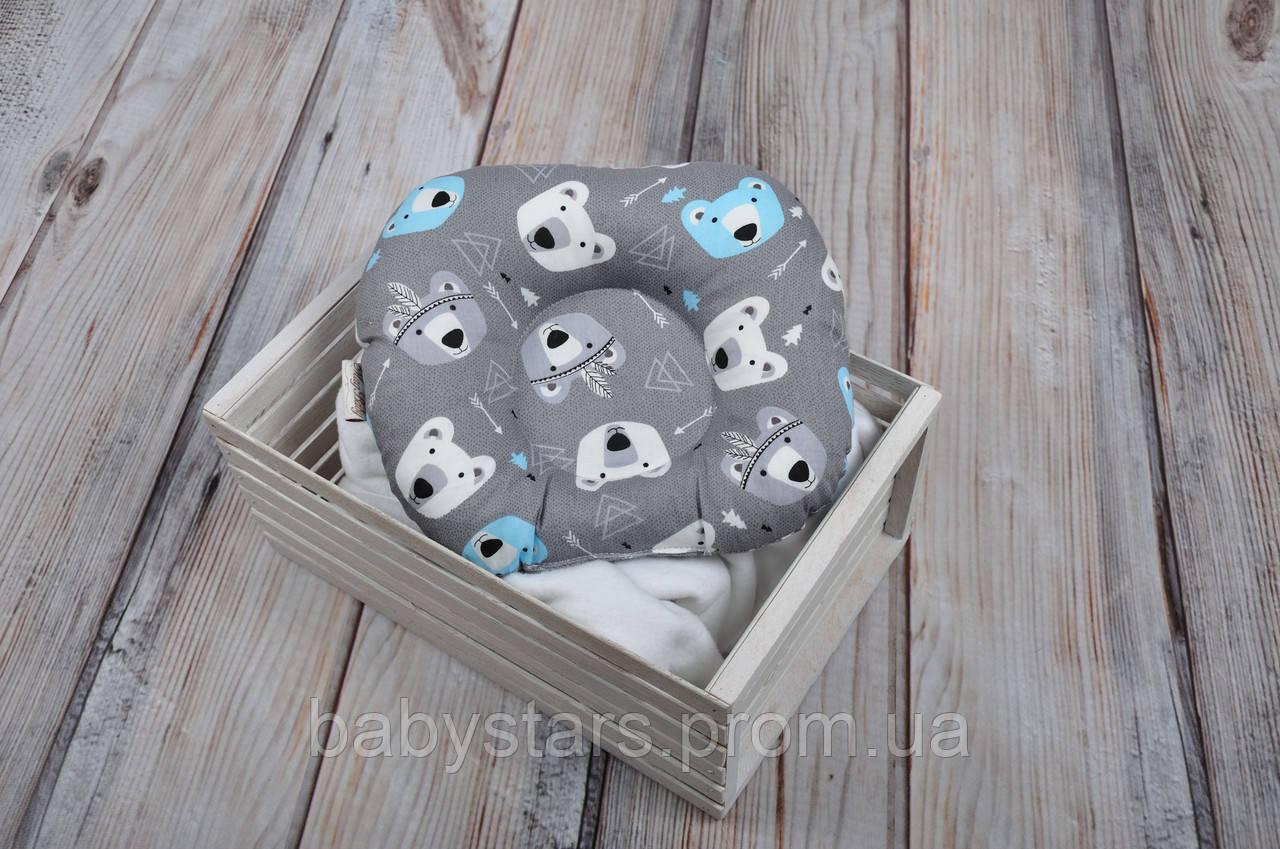 """Подушка для новорожденных """"Медведи"""""""