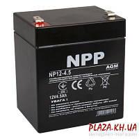 Аккумуляторная батарея для ИБП NPP Аккумуляторная батарея для ИБП NPP NP12-4,5 12В 4,5Ач 90х70х101 мм