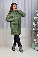 """Пальто """"Суровая зима"""". Норма + Батал"""