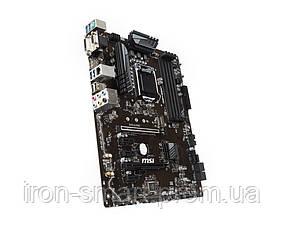 Мат.плата 1151 (Z370) MSI Z370-A PRO, Z370, 4xDDR4, CrossFire, Int.Video(CPU), 6xSATA3, 1xM.2, 2xPCI-E 16x 3.0, 4xPCI-E 1x 3.0, ALC892, RTL8111H,