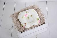 """Подушка для новорожденных """"Розы"""", фото 1"""