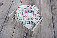 """Подушка для новорожденных """"Цветные рыбки"""", фото 1"""