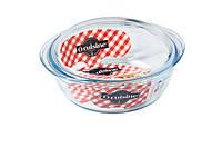 Кастрюля Pyrex Cuisine Basic 3л жаропрочое стекло (208AC00)