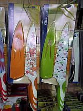 Ніж Giacoma G-8310 з кольоровим покриттям клинка і чохлом