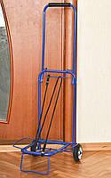 Облегченная металлическая кравчучка с железными колесами и крепежной резинкой